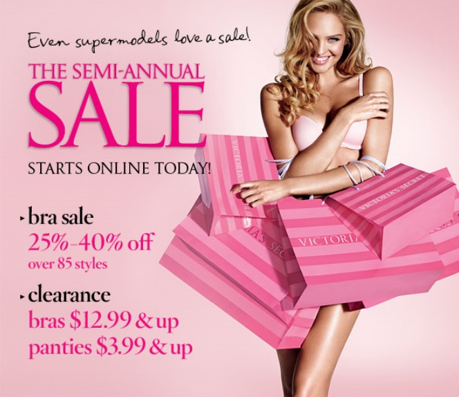 Victoria secret semi annual sale dates