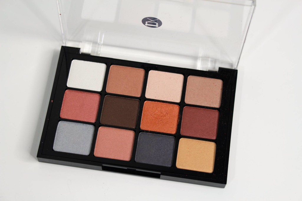 Viseart Eyeshadow Palette sultry muse