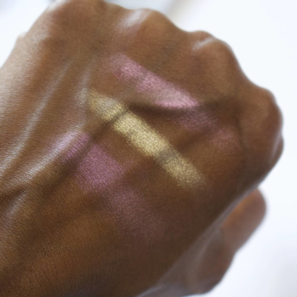 urban decay afterglow highlighter swatches